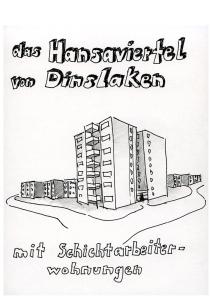 Daniela Brahm, August-Thyssen-Siedlung, erbaut 1966, das Hansaviertel von Dinslaken