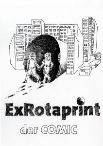 "Daniela Brahm ""ExRotaprint, der Comic"" 2014 ink on paper, 29,7 x 21 cm"