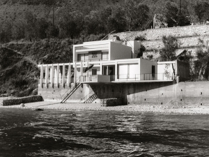 Daniela Brahm, Haus Ziethen, Limone, Lake Garda Architects Klaus Kirsten and Heinz Nather, 1960