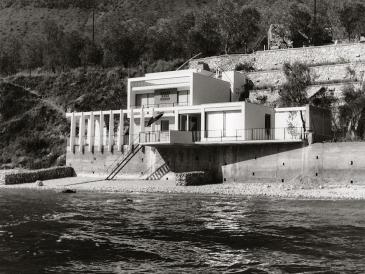 Daniela Brahm, Haus Ziethen, Limone, Lake Garda Architects Klaus Kirsten and Heinz Nather, 1960