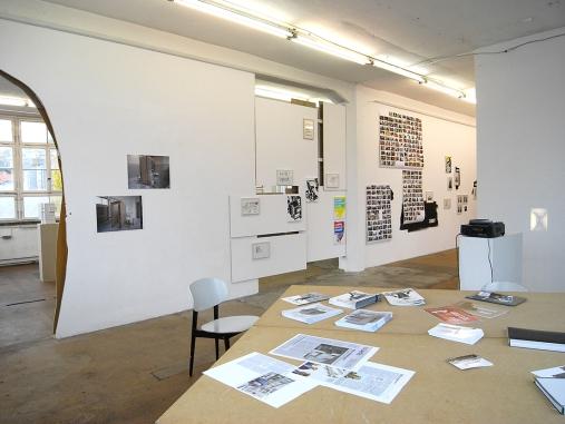 Daniela Brahm Ereignispanorama und andere Verwicklungen with Les Schliesser Kunstverein Nürtingen, 2013