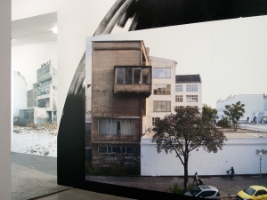 Daniela Brahm Urban Activism as Artistic Practice 2014 (with Les Schliesser) at 0047 Oslo, NOR billborad prints, wall painting, drawings, posters, sculpture with leathers and monitors, slide projections, info material